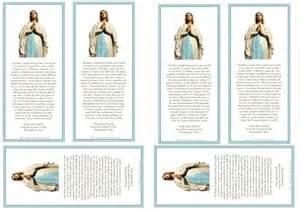 prayer card sheets bringing catholics and non catholics
