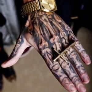 bill kaulitz hand tattoo tokio hotel phantomrider