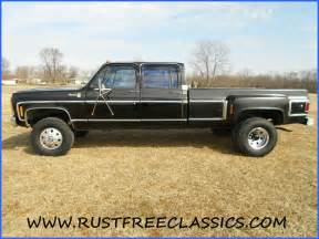 1980 chevy crew cab dually 4x4 rides