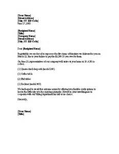 vehicle repossession letter template repossession notice word 2003 or newer letter