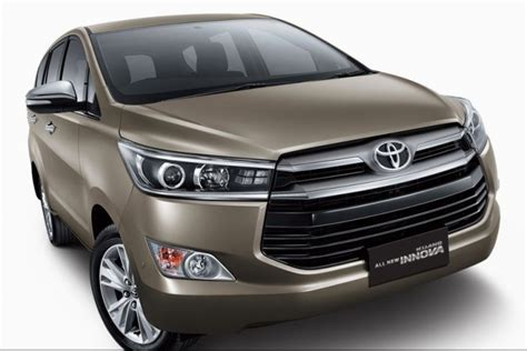 Toyota Innova New Car Price Upcoming Cars In 2016 Multi Purpose Vehicles Mpv From
