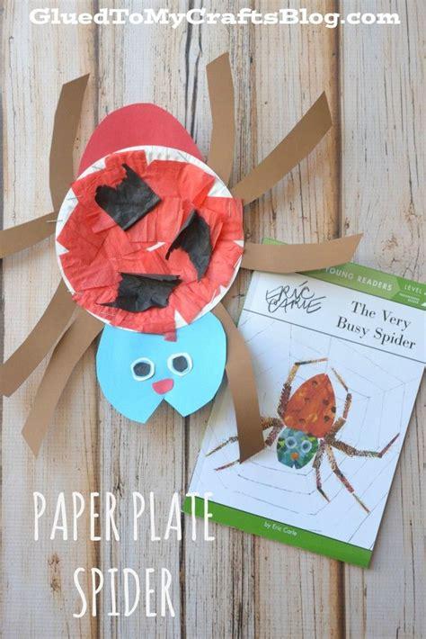 Paper Plate Craft Book - best 25 spider crafts ideas on