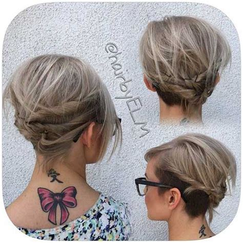 Trending Long Bob Updo Ideas   Bob Hairstyles 2017   Short Hairstyles for Women