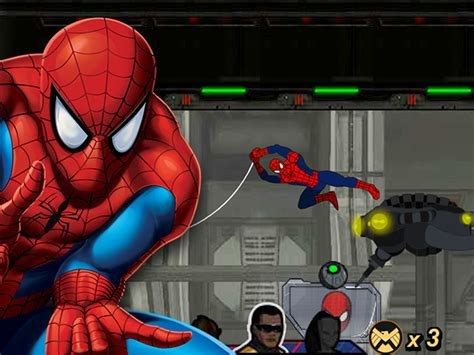 ultimate spider man games disney games uk