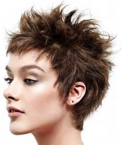 womens stacked spike haircut brilliant short spiky womens hairstyles intended for found