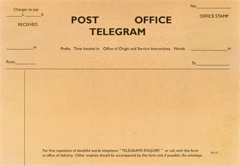 Telegram Template unit 38 the process of a telegram base
