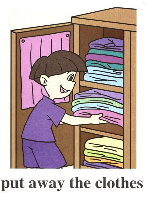 Put A In Your Wardrobe by Phrasal Verbs Both Sides Of