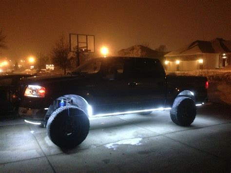 underglow lights for lifted trucks led service lights glow ford f150 forum