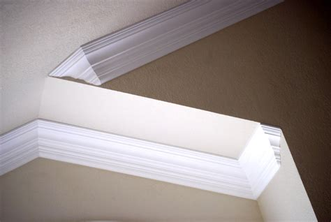 Crown Molding On Angled Ceiling by Vaulted Crown Moulding Crown Installation San