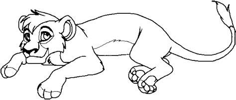 lion king broadway coloring pages kovu clipart 171 annie s album fan art albums of my lion king