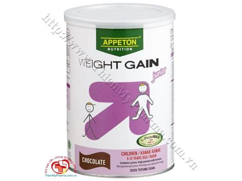Appeton Weight Gain Child 450gr Sữa Appeton Weight Gain Child 900g