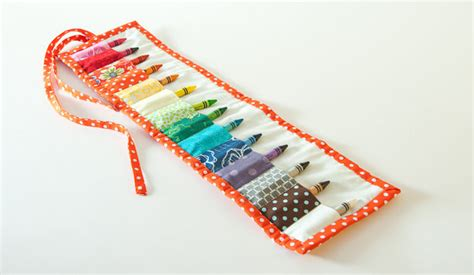 pattern for crayon roll up fashion sewing patterns inspiration community and