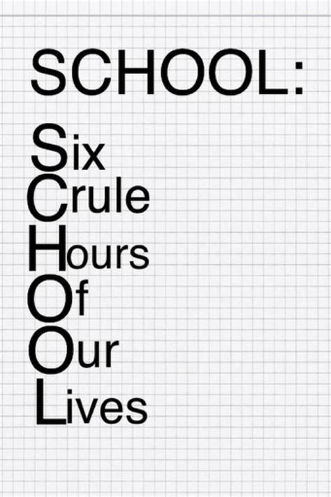 i hate school funny pictures funny quotes about school quotesgram
