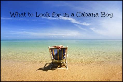 what to look for in a cabana boy funny pinterest