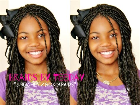 differance between a box braid and a regular braid 11 best images about box braids for kids on pinterest