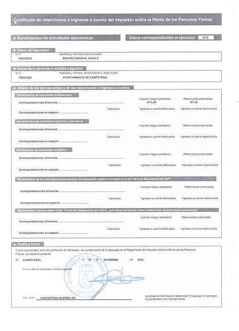 certificado de ingresos y retenciones en excel 2015 certificado de ingresos y retenciones inicio
