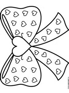 bows coloring pages free printable bows coloring pages