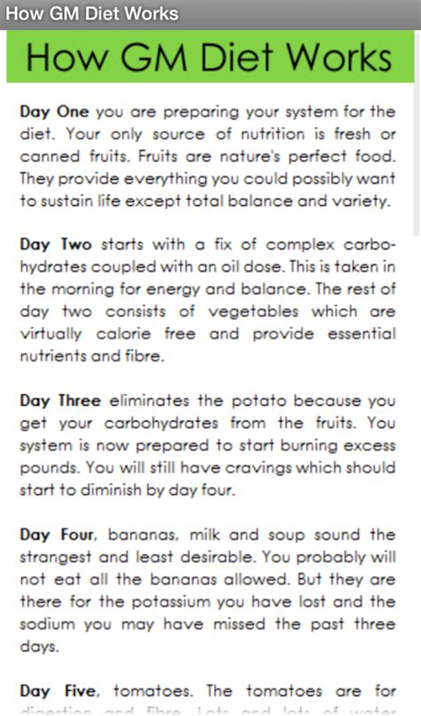 Gm Detox Diet Plan by Gm Diet Vegetarian Gorasads Health