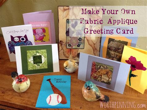 make your own congratulations card handmade fabric applique greeting cards