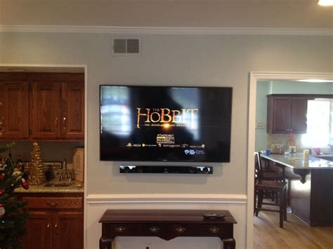 mount sound bar on top of tv top 25 best tv wall mount installation ideas on pinterest fireplace tv wall wall