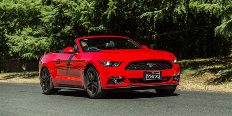 2016 ford mustang ecoboost convertible review caradvice