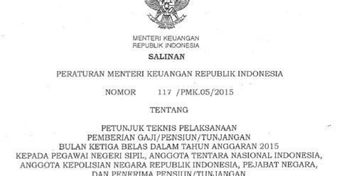 20160602105914 peraturan menteri ke peraturan menteri keuangan pmk ri no 117 pmk 05 2015