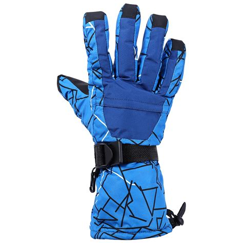 Windproof Motorcycle Gloves by Unisex Warm Winter Gloves Waterproof Windproof Ski