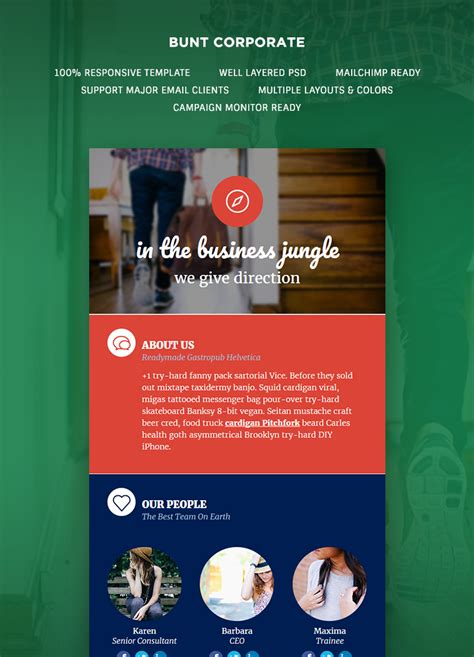 Bunt Corporate Email Newsletter Template Buy Premium Bunt Corporate Email Newsletter Template Buy Newsletter Templates