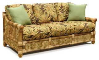Rattan Sleeper Sofa Palm Island Wicker Sleeper Sofa By Capris