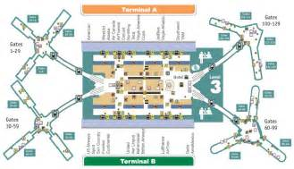 Orlando Airport Map by Orlando Airport Orlando Inside