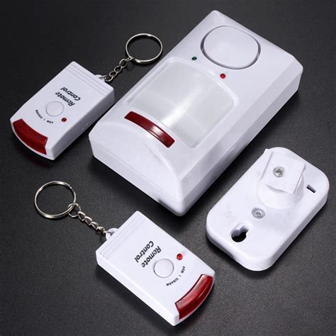 portable ir wireless motion sensor detector 2 remote