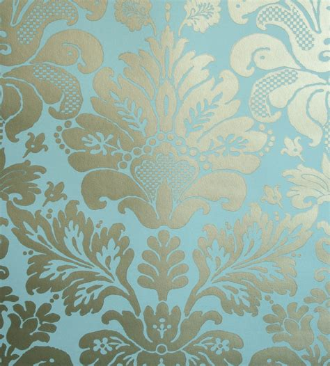 Bathroom Wallpaper Ideas Uk Nina Campbell Campbell Damask Wallpaper