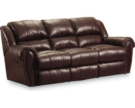 lane recliner and lane furniture leather reclining sofa talon double