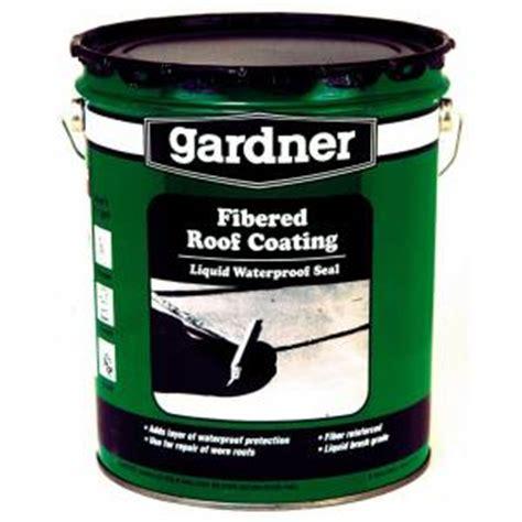 gardner 4 75 gal fibered roof and foundation coating 0105