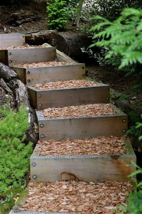 backyard steps ideas 25 best ideas about outdoor stairs on pinterest