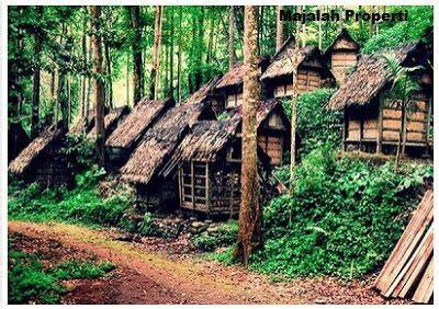 desain bentuk rumah adat banten  penjelasannya rumah  perumahan rumah adat indonesia