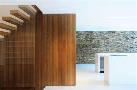 Modern Wood by Wood Stairs Modern Home In By Bureau