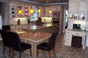 Ideas For Kitchen Islands With Seating by Stone Ceramic Floor With Small Island With Seating For