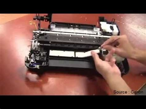 canon printer ink absorber replacement printer canon b200 or 5b00 error on canon and ink absorber youtube