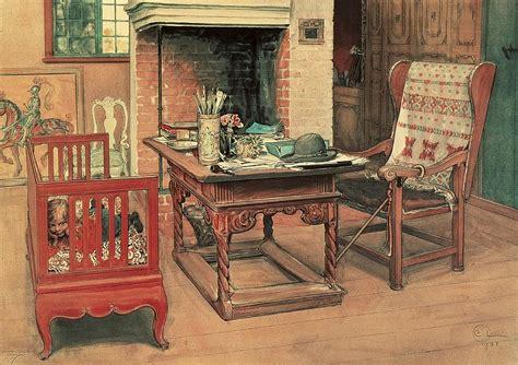 1 Bedroom House Plans hide and seek painting by carl larsson