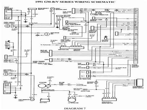 1990 chevrolet k5 blazer wiring diagram wiring diagrams