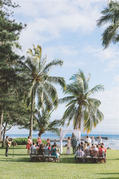 plantation house maui beautiful maui wedding at the olowalu plantation house makena weddings