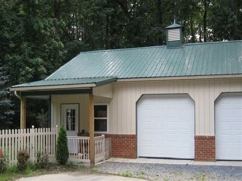metal garage with living space pole barn garage with living quarters barn designs