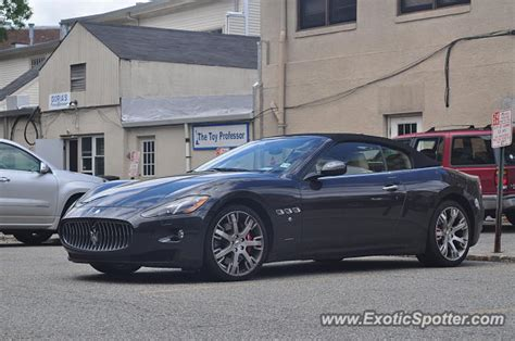 maserati of new jersey maserati grancabrio spotted in summit new jersey on 05 26