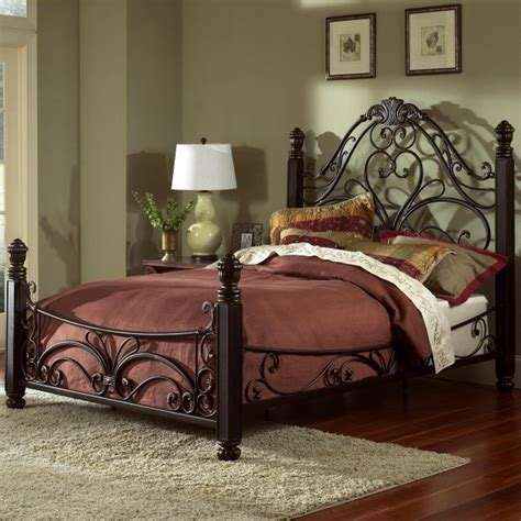 King Metal Bed Frame Headboard Footboard Doral King Metal Bed Frame Headboard Footboard Picture 00 Bed Headboards