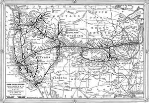 union pacific railroad map california california and the expositions union pacific system