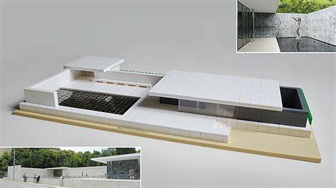 Architectural Building Plans by Lego Ideas Lego Architecture The Barcelona Pavilion