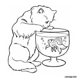 coloriage poisson chat jecolorie