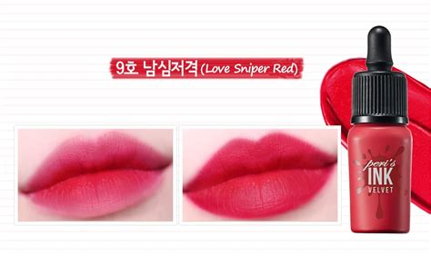 Peripera Cloud Ink Velvet Liptint New peripera peri s ink the velvet with free gift adding 2017