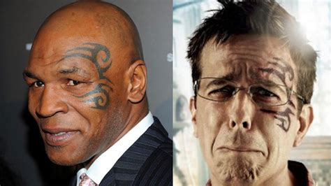 mike tyson face tattoo hangover 2 hang up mike tyson artist sues warner